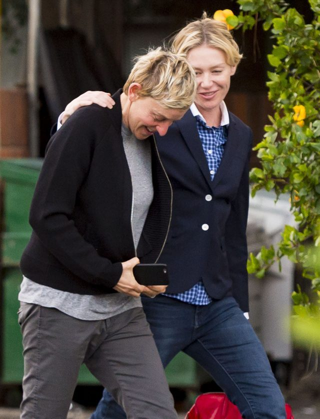 Ellen DeGeneres bez makijażu - nasze kompleksy zniknęła