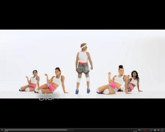 56-letnia Ellen DeGeneres twerka z Nicki Minaj w jej klipie