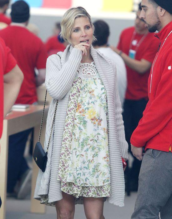 Elsa Pataky kwitnie w ciąży (FOTO)
