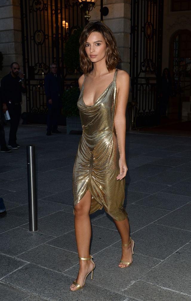 Tylko na niej taka sukienka mogła wyglądać seksownie?