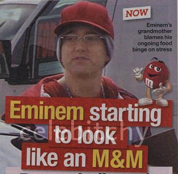 Jak przytył Eminem