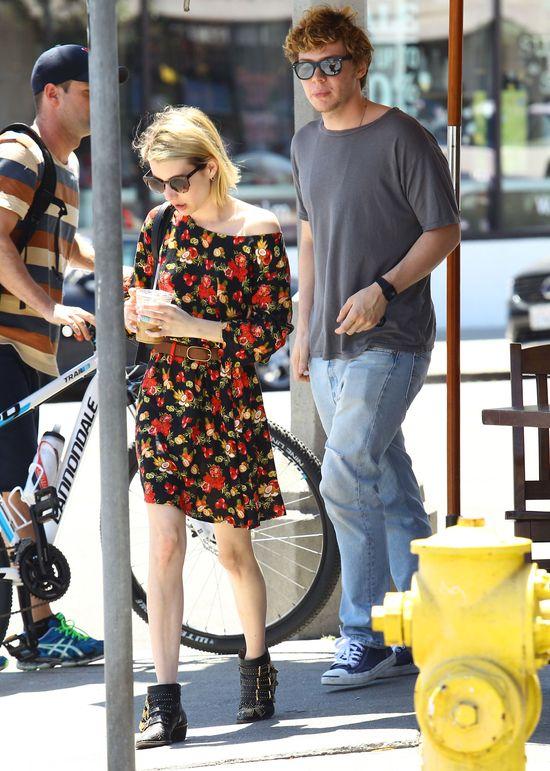 Emma Roberts znowu spuściła łomot swojemu narzeczonemu!