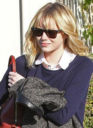 Emma Stone na co dzień nie wygląda jak wielka gwiazda (FOTO)