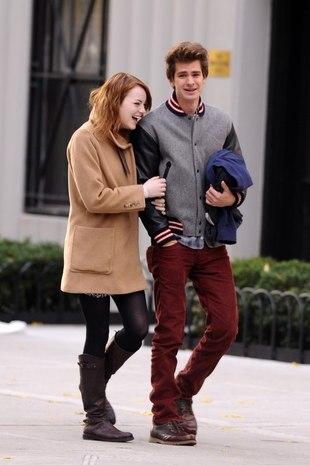 Emma Stone może zapomnieć o romantycznych spacerach (FOTO)
