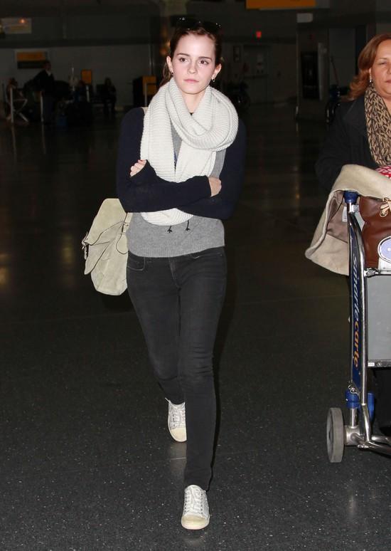 Emma Watson na co dzień wygląda jak zwykła dziewczyna