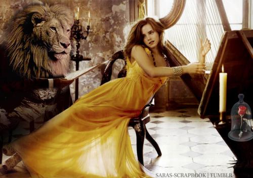 Emma Watson zagra Belle w Pięknej i Bestii!