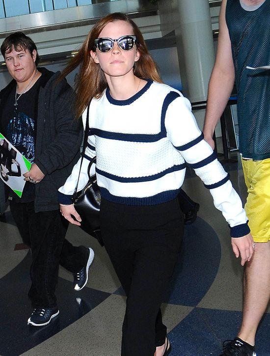 Emma Watson o w�os od porwania!