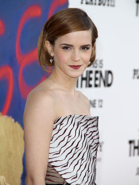 Emma Wadson na premierze filmu