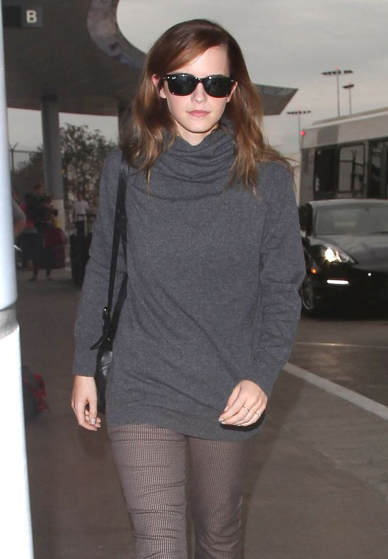 Emma Watson skromna na co dzień (FOTO)