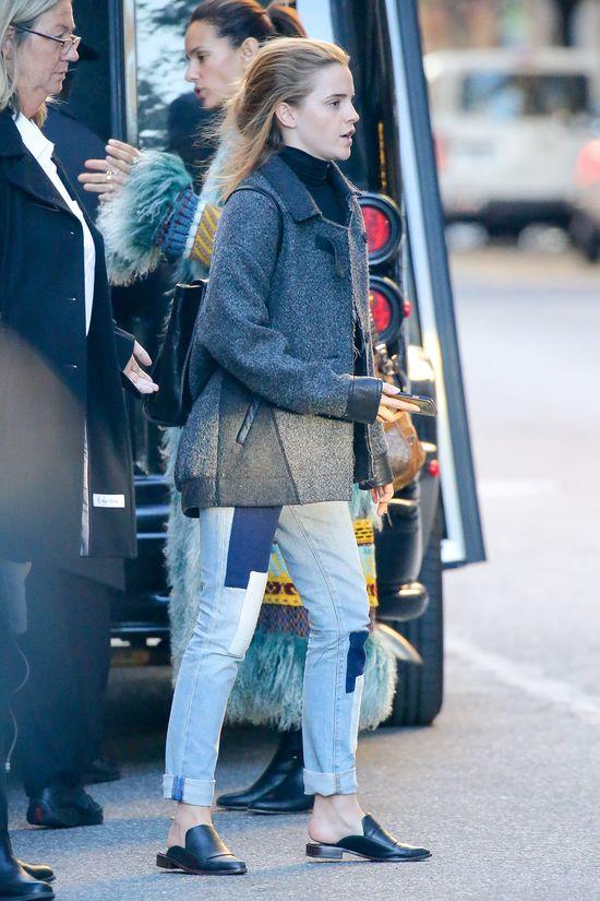 Kiedy Emma Watson nie chce wyglądać jak gwiazda... (FOTO)