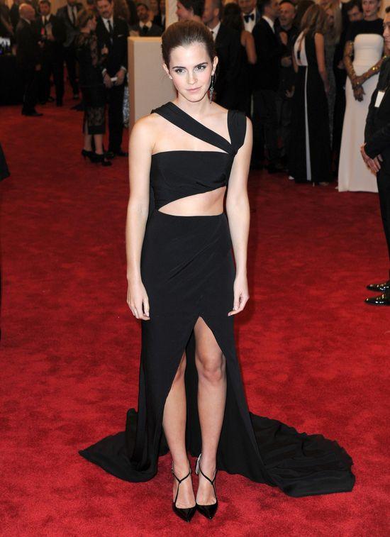 Emma Watson na gali i po gali MET
