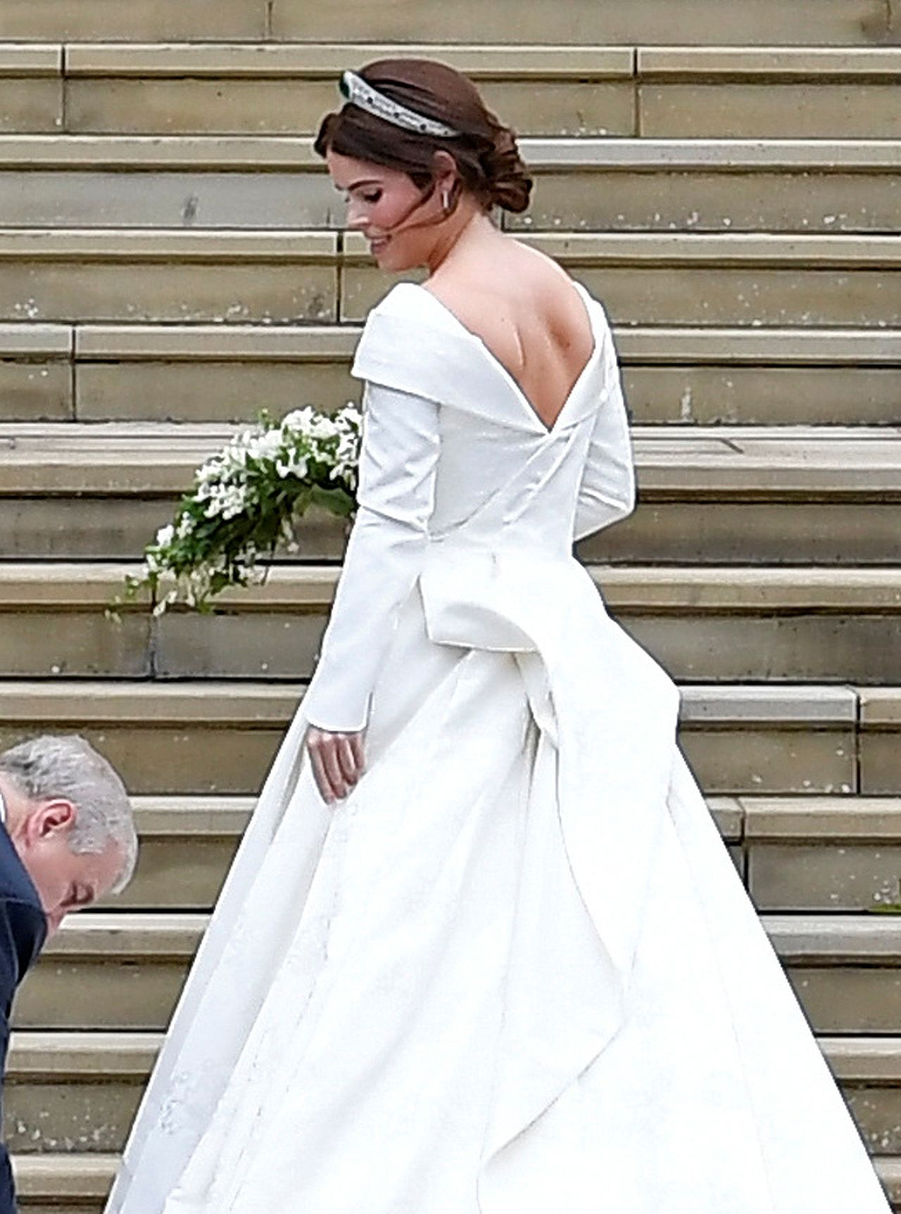 Księżniczka Eugenia w PRZEPIĘKNEJ sukni ślubnej (ZDJĘCIA)