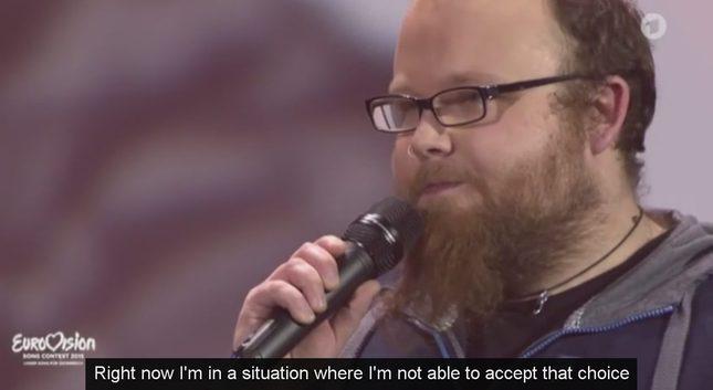 Zamieszanie wokół reprezentanta Niemiec na Eurowizję [VIDEO]
