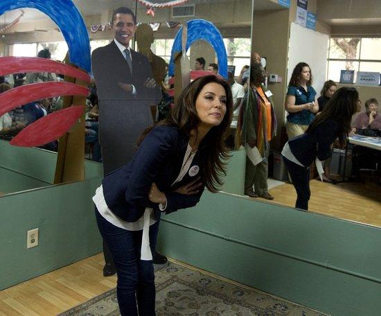 Longoria wspiera Baracka Obamę (FOTO)
