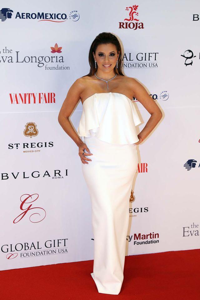Eva Longoria pokazała ciążowy brzuszek (Instagram)
