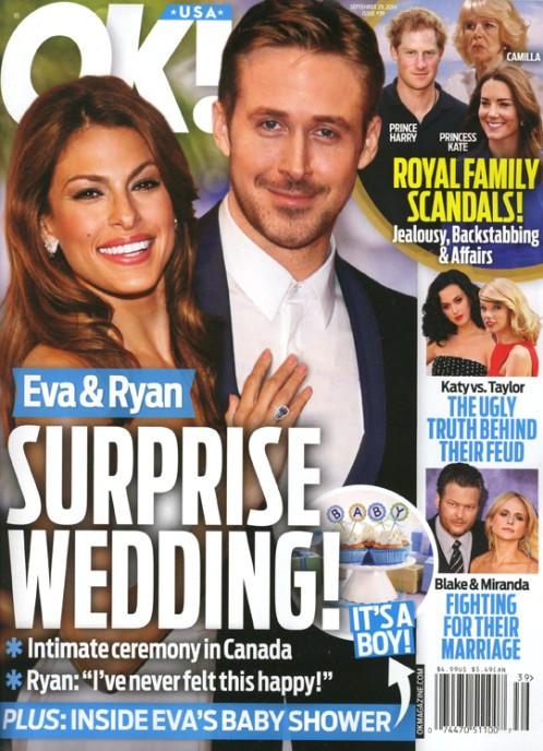 Eva Mendes urodziła dziecko i teraz żąda ślubu!