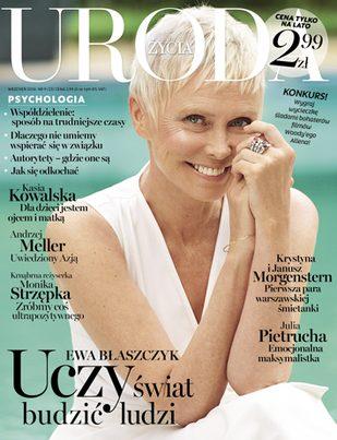 Ewa Błaszczyk opowiada o poprawie stanu zdrowia córki Oli