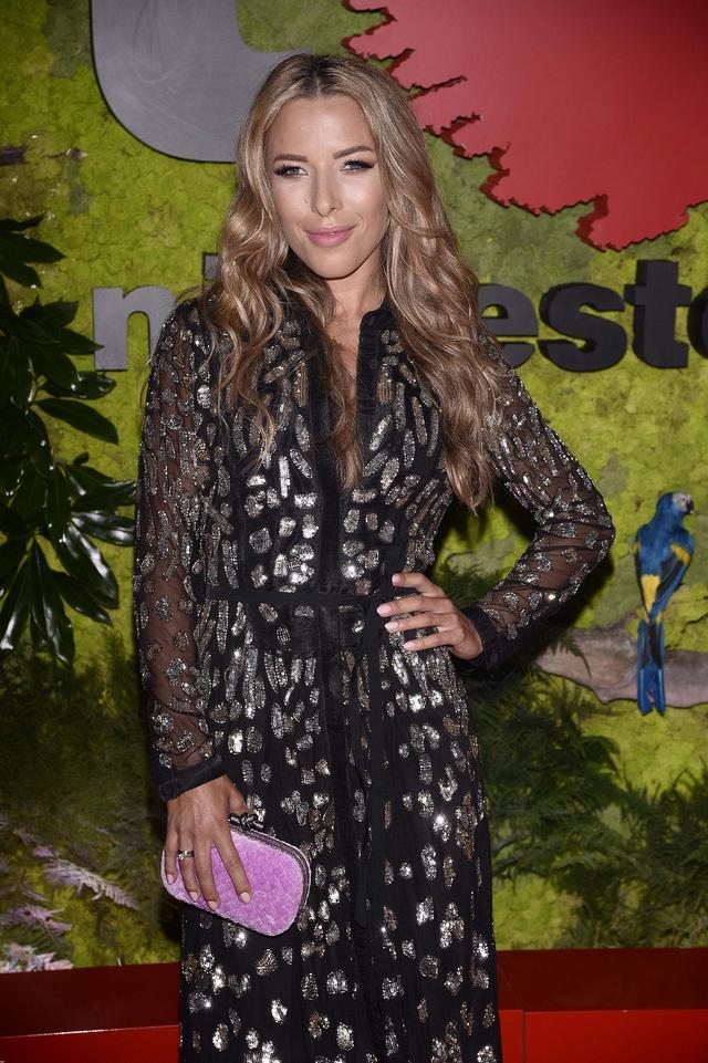 Ewa Chodakowska w wieczorowej sukni na balu Fundacji TVN (FOTO)
