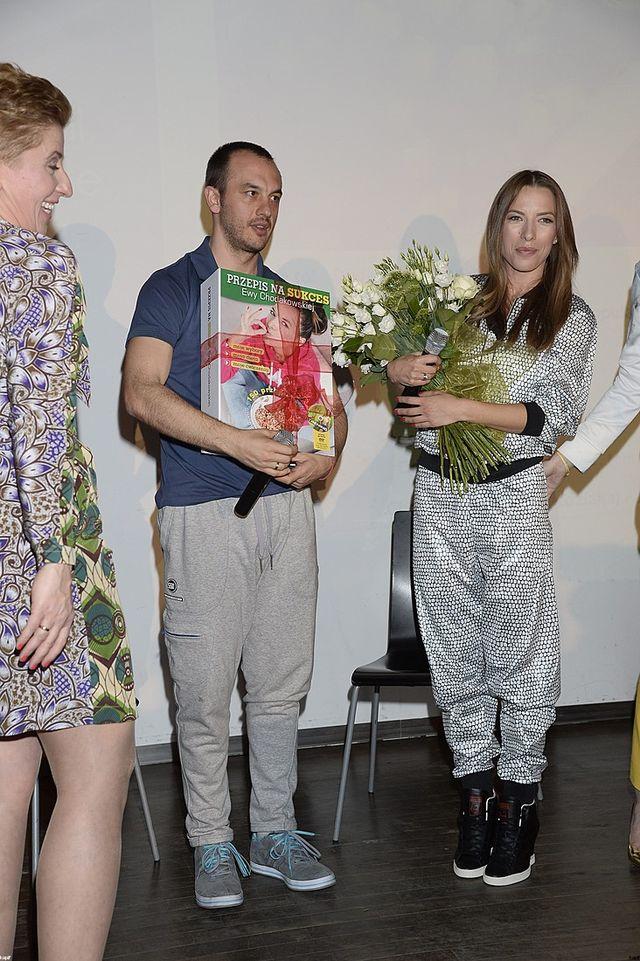 Ewa Chodakowska promuje nową książkę (FOTO)