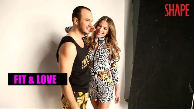 Ewa Chodakowska z mężem w sesji dla SHAPE (FOTO+VIDEO)