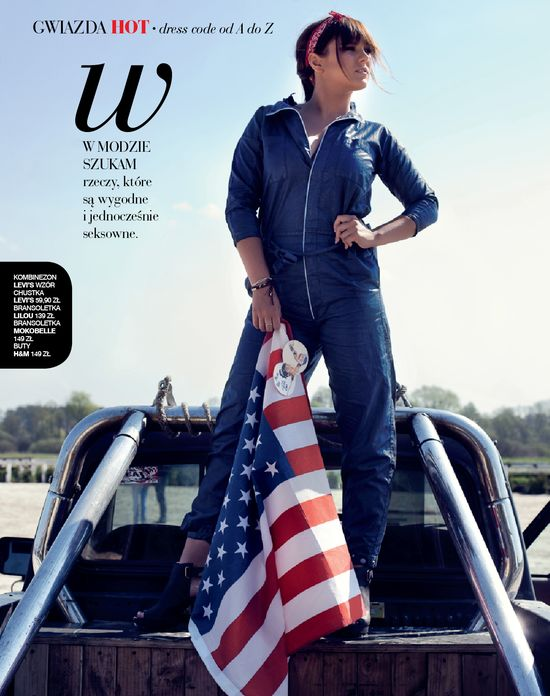 Ewa Farna w magazynie HOT Moda (FOTO)