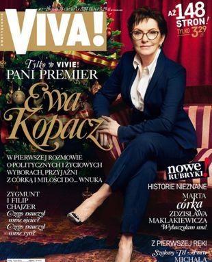 Ewa Kopacz na okładce Vivy! – jest AWANTURA! (FOTO)