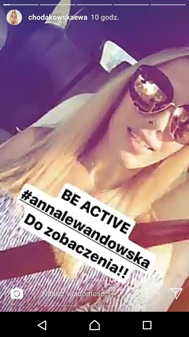 Co Ewa Chodakowska zaproponowała Annie Lewandowskiej?