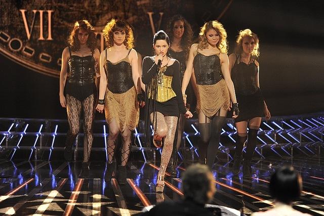 Ostry image Eweliny Lisowskiej w X-Factor (FOTO)