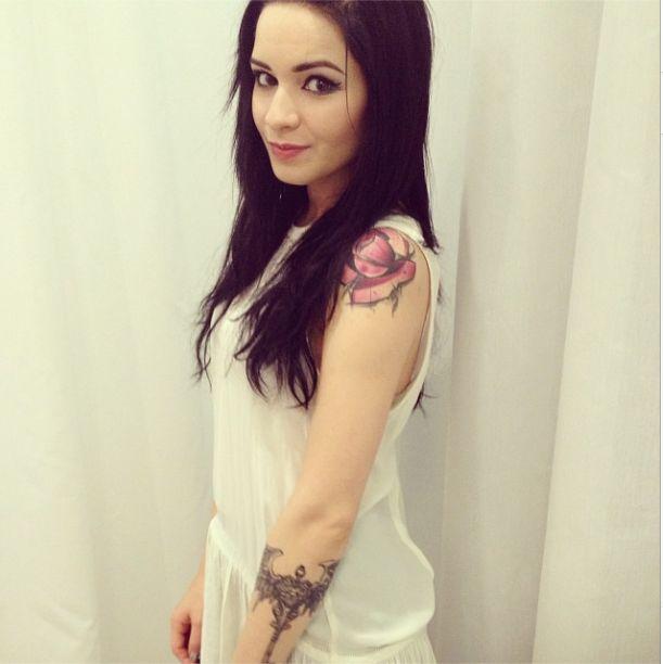 Ewelina Lisowska chwali się tatuażem (FOTO)