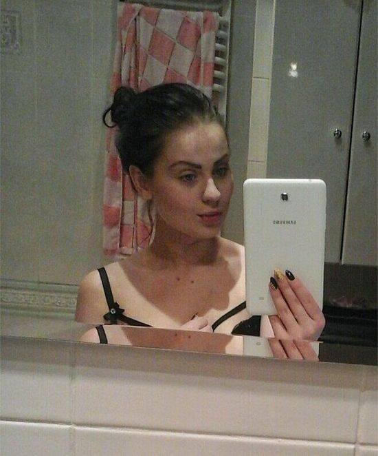 Ewelina z Warsaw Shore na FB bez makija�u (FOTO)