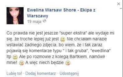 Ewelina z Warsaw Shore mocno schudła (FOTO)