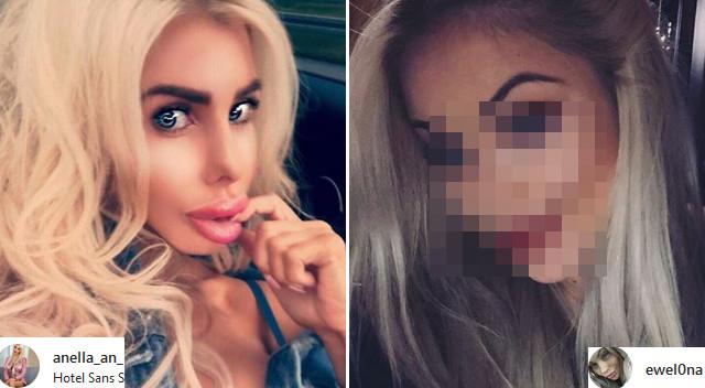 Ewelina z Warsaw Shore zaczyna przypominać Anellę? (Instagram)