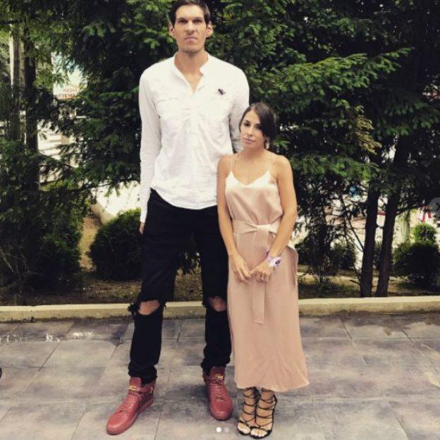 Boban i Milica - para z bardzo dużą różnicą wzrostu