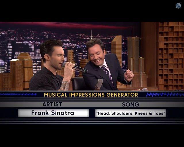 Oni są rewelacyjni! Jimmy Fallon i Adam Levine w akcji VIDEO