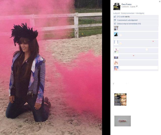 Ewa Farna pokazała zdjęcia z nowej sesji dla HOT Moda (FOTO)