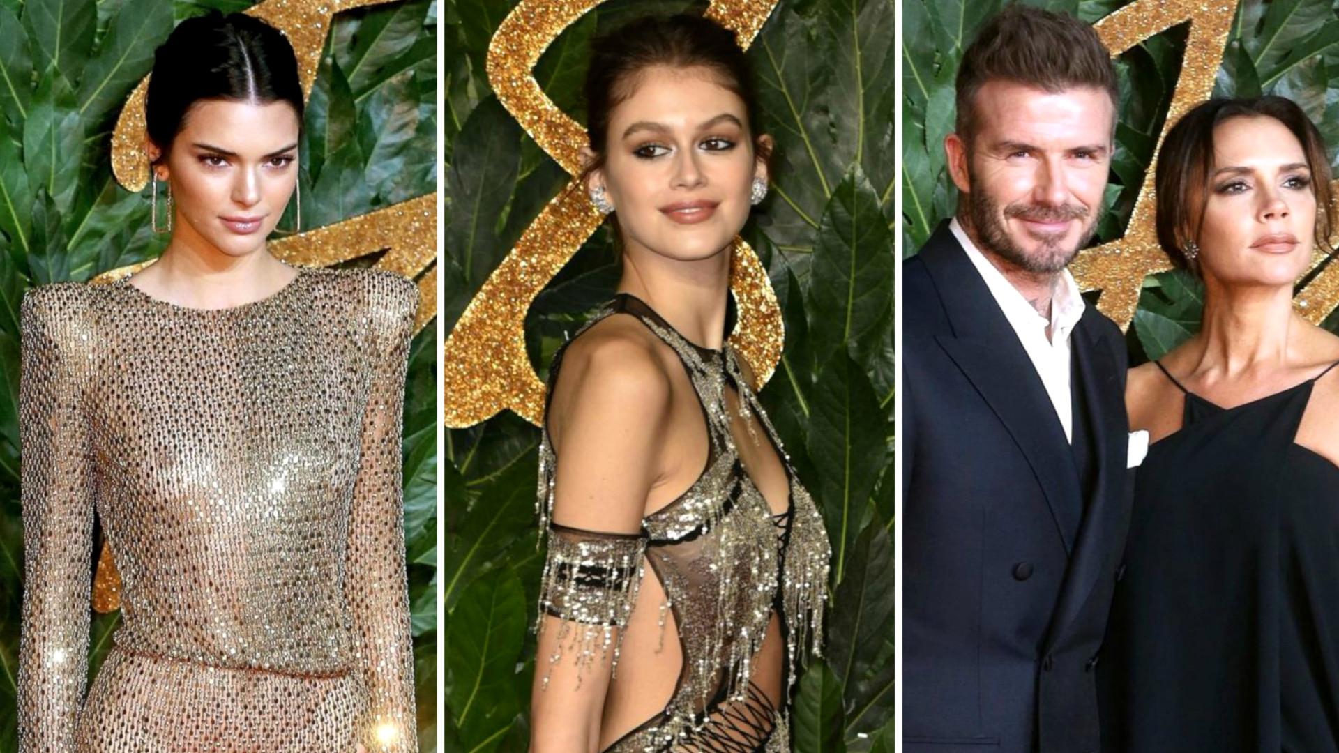 Gwiazdy w ZJAWISKOWYCH kreacjach na Gali British Fashion Awards 2018