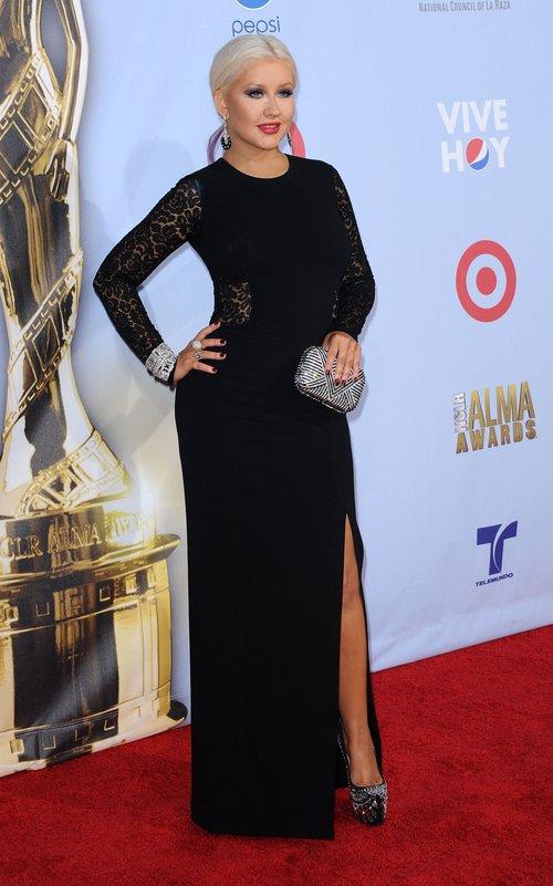 Christina Aguilera seksowna na imprezie ALMA Awards.