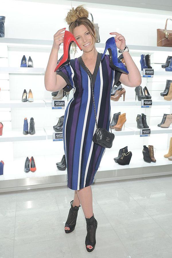 Celebrytki na promocji nowej kolekcji butów (FOTO)