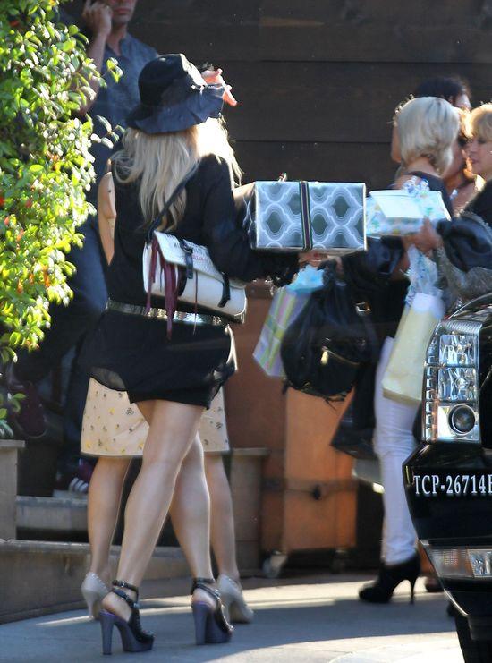 Fergie i jej baby shower (FOTO)