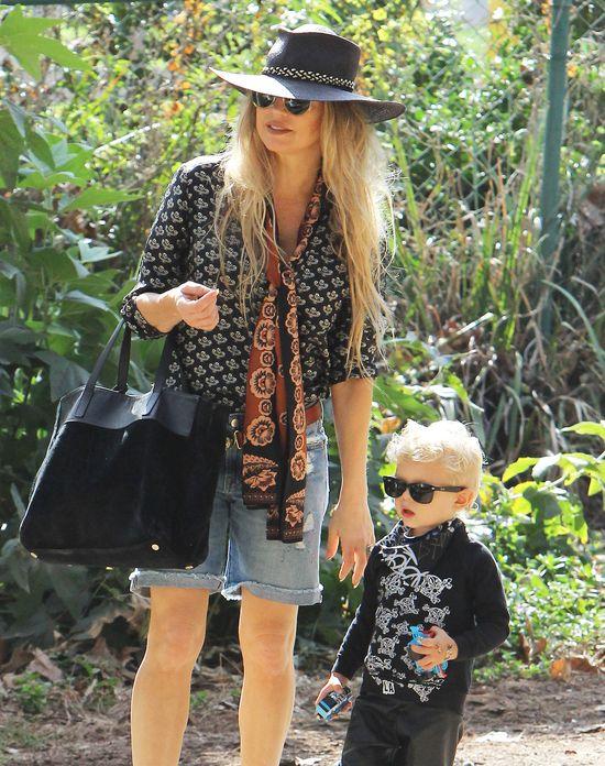 Fergie też mocno dba o stylówkę synka (FOTO)