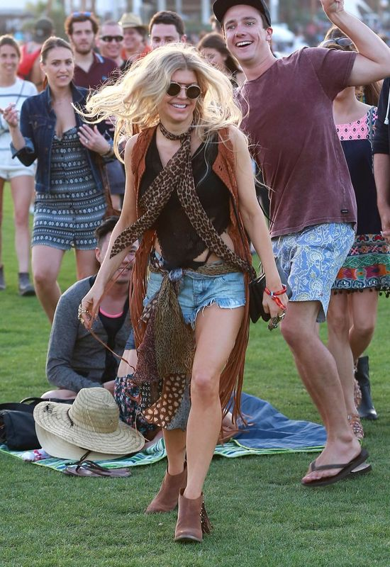 Gwiazdy już rozpoczęły festiwal Coachella (FOTO)