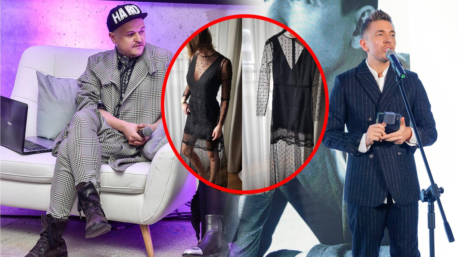 Fetysz nie odpuszcza Jemiołowi, pokazuje sukienkę wylicytowaną za 24 tysiące