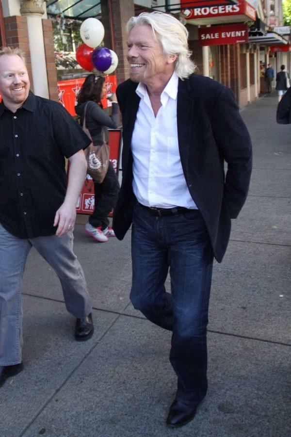 Richard Branson znów w skowronkach (FOTO)