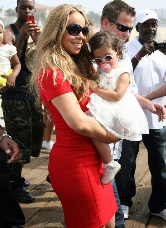 Mariah Carey z dzie�mi (FOTO)