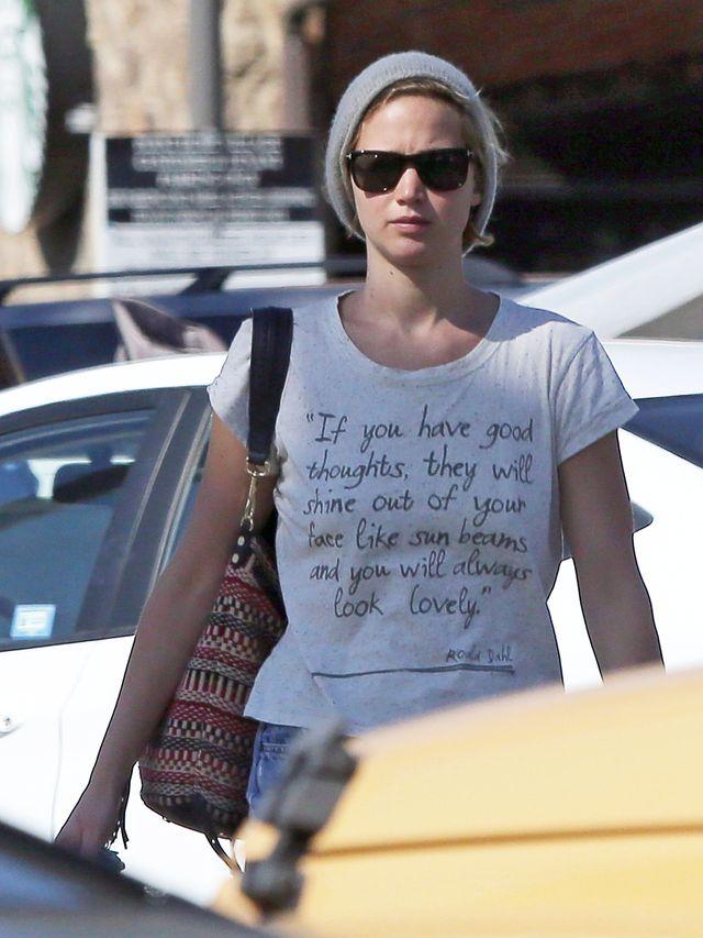 Jennifer Lawrence ma s�abo�� do pewnej przek�ski