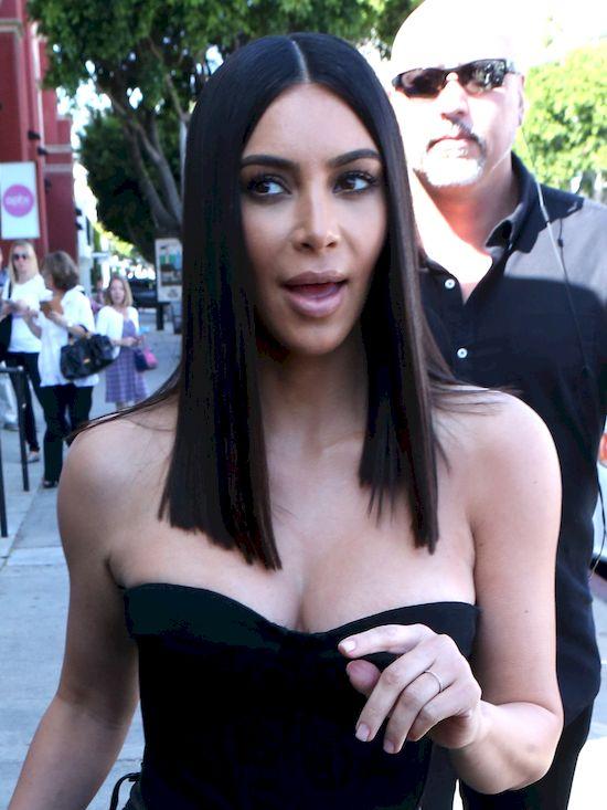 Kim Kardashian i North West spotykały się z Arianą Grande!