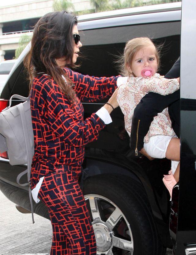 Kourtney Kardashian nie ma czasu na egzaltowanie się ciążą