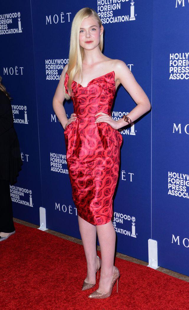 Elle Fanning bez makijażu jak zwykła nastolatka? (FOTO)