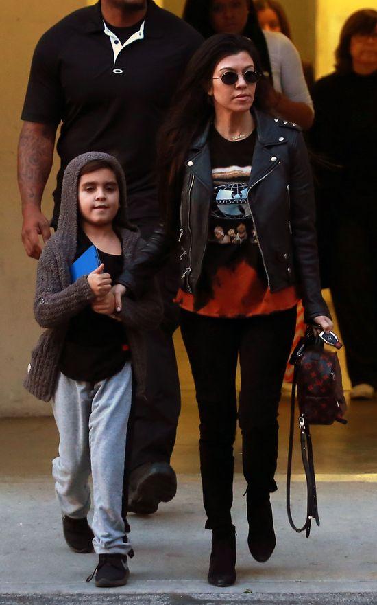 Kourtney Kardashian pojawiła się w sukience od... La Mania!