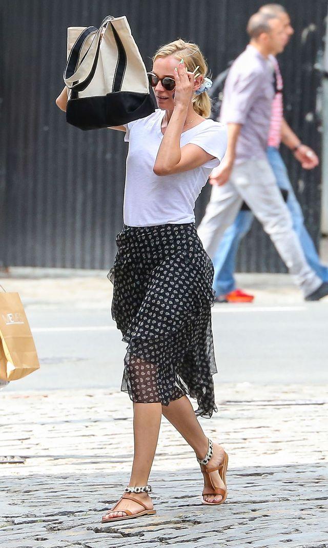 Diane Kruger i Joshua Jackson kłócą się na ulicy (FOTO)
